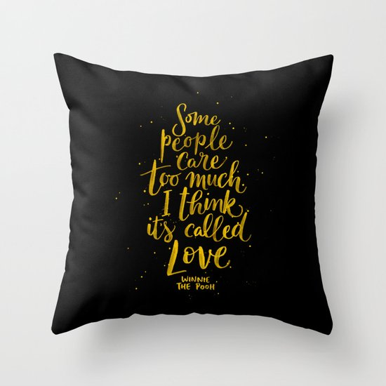 It's Called Love  Throw Pillow