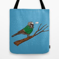 Annoyed IL Birds: The Sparrow Tote Bag