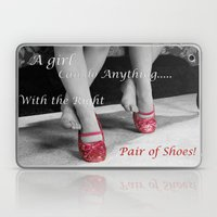 The right Shoes Laptop & iPad Skin