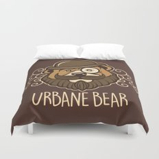 Urbane Bear Duvet Cover