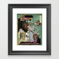 Angel Of Decay Framed Art Print