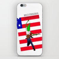 Bruce Stringbean iPhone & iPod Skin