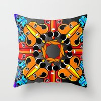 Collide Throw Pillow