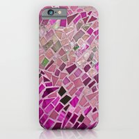 Little Pink Tiles iPhone 6 Slim Case
