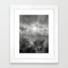 Black and White - Wish You Were Here (Chapter I) Framed Art Print