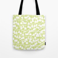 Lily of the Valley repeat Tote Bag