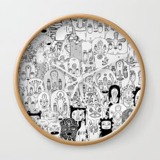 School daze Wall Clock