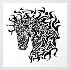 Stallion Art Print