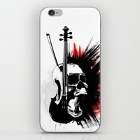 ViolinScull iPhone & iPod Skin