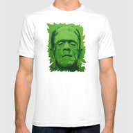 The Creature (original) Mens Fitted Tee White SMALL