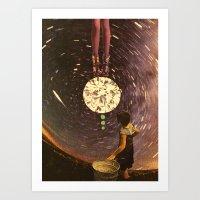 Cosmic Reign Art Print