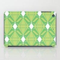 Abstract [GREEN] Emerald… iPad Case