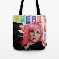 Lady Pop Tote Bag