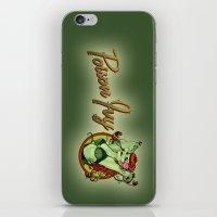 Poison Ivy Bombshell iPhone & iPod Skin