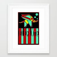 Elefante Framed Art Print