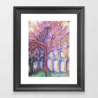 Nerve Tree Framed Art Print