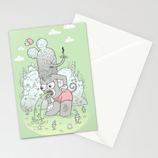 knee deep Stationery Cards