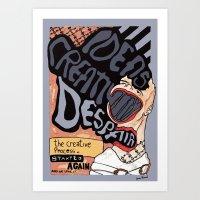 THE CREATIVE PROCESS Art Print