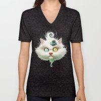 Release The Odd Kitty!!! Unisex V-Neck