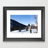 Colorado Morning Framed Art Print