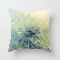 Jinny Joe Throw Pillow