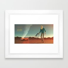 The Man with the Golden Beard Framed Art Print