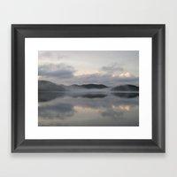 Mistworld Framed Art Print