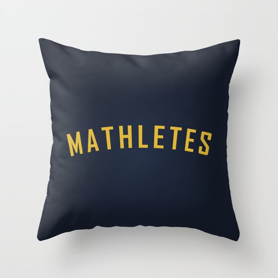 Mathletes - Mean Girls movie Throw Pillow