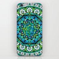 Khatem Rosette 003 | Turquoise iPhone & iPod Skin