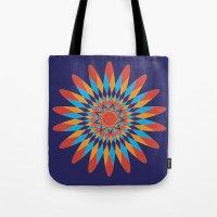 Kaleidoscope Quilt Tote Bag