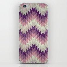 Chevron pattern_Pink iPhone & iPod Skin
