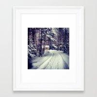 Lost Cottage Framed Art Print