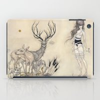 The White Snake iPad Case