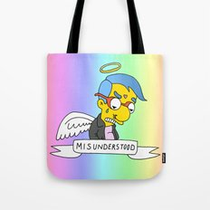 misunderstood milhouse Tote Bag