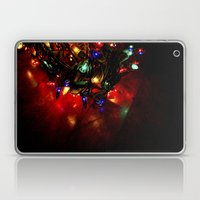 Colored Lights - Christm… Laptop & iPad Skin