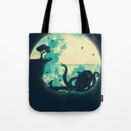 Tote Bag featuring The Big One by Jay Fleck