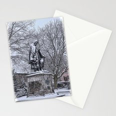 Tennyson in the Snow Stationery Cards