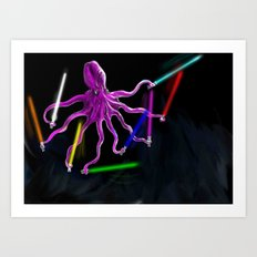FEAR ME Art Print