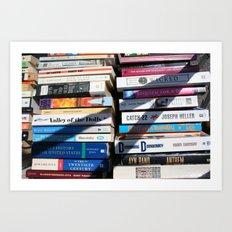 Books Art Print