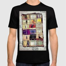 Aconchego -SP Mens Fitted Tee Black SMALL