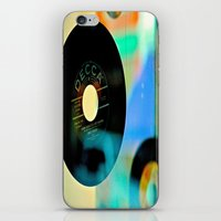 Nothing Sounds Like Vinyl iPhone & iPod Skin