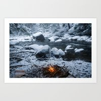 Vermont Winter Art Print