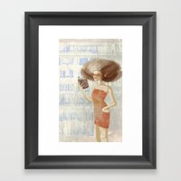 Librarian Framed Art Print