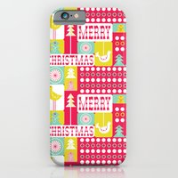 Festive Christmas Collage iPhone 6 Slim Case