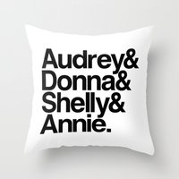 Windom's Queens (White Lodge) Throw Pillow