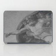 Black White Sistine iPad Case