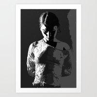 Wrinkle in time... Art Print