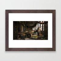 Deserted Factory Framed Art Print