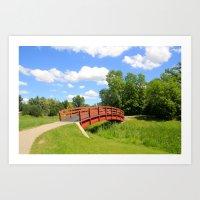 Kings Bridge Art Print