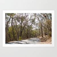 California Road Art Print